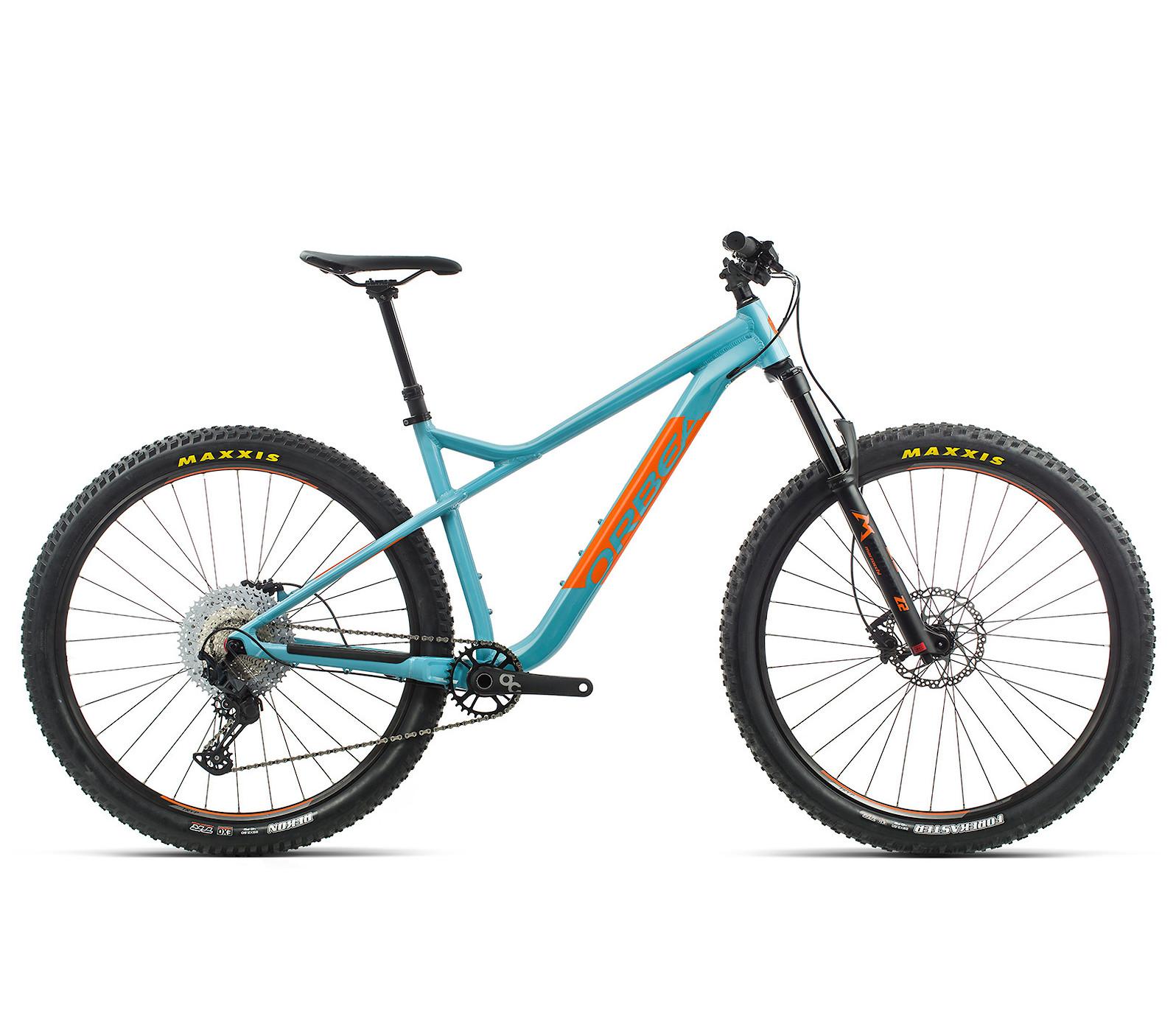 2020 Orbea Laufey H10 in blue gulf/orange