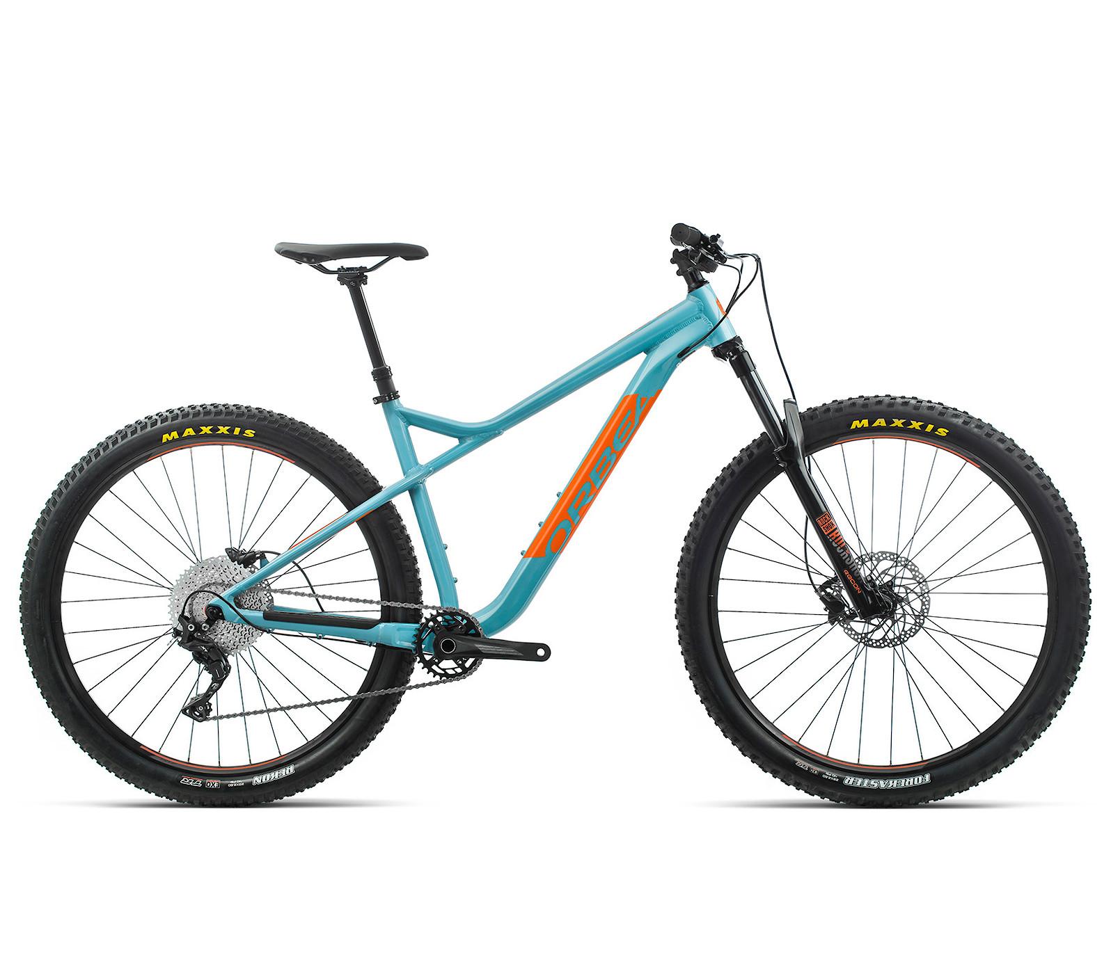 2020 Orbea Laufey H30 in blue gulf/orange