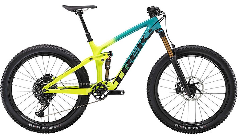 2020 Trek Remedy 9.9 Teal to Volt Fade