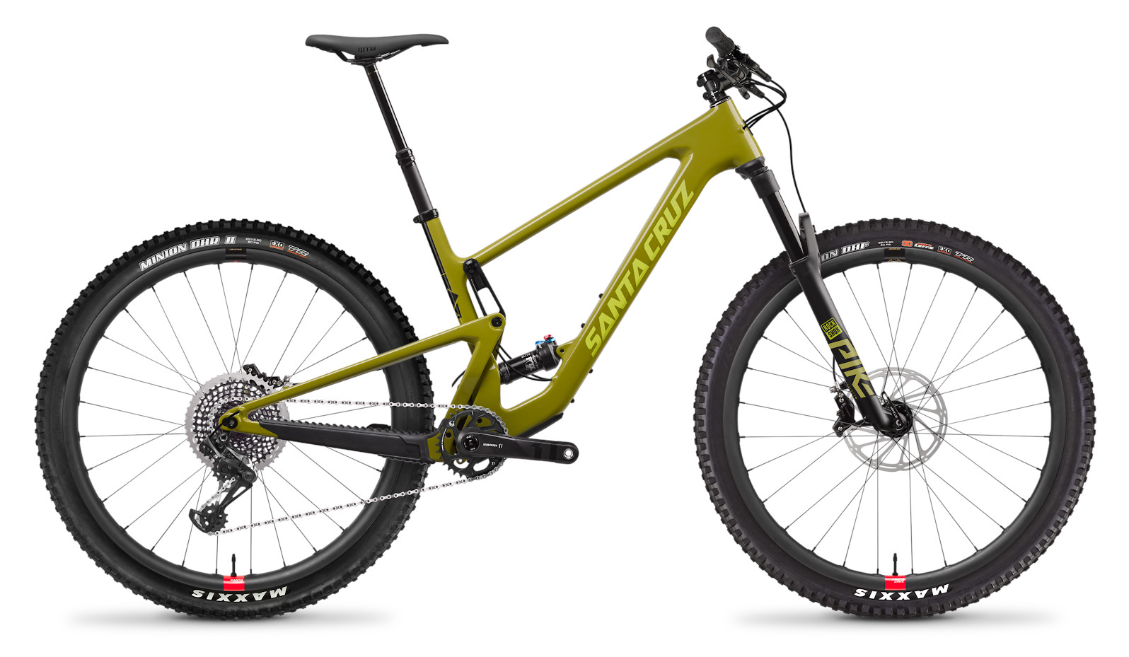 2020 Santa Cruz Tallboy CC X01 Reserve (Rocksteady Yellow)