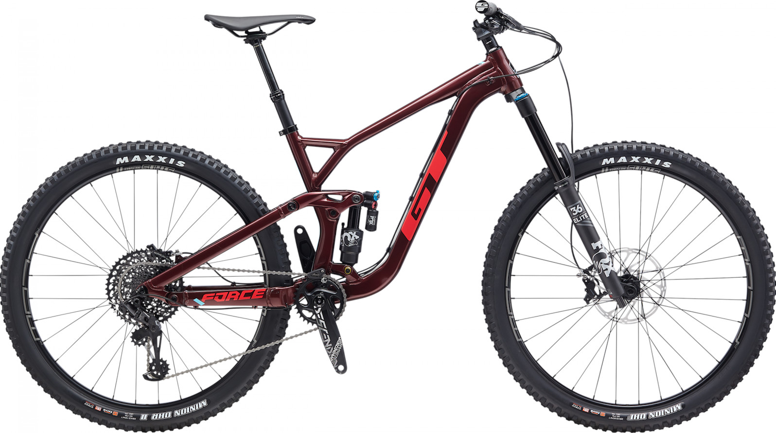 2020 GT Force 29 Pro pictured in burgundy