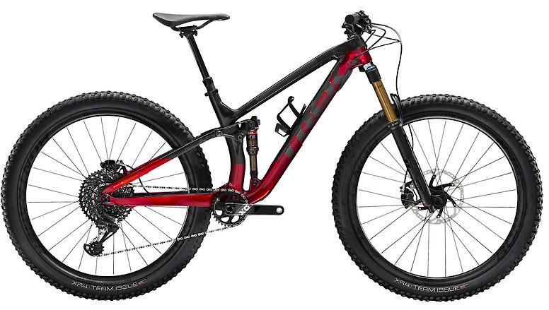 2020 Trek Fuel EX 9.9 Raw Carbon Rage Red