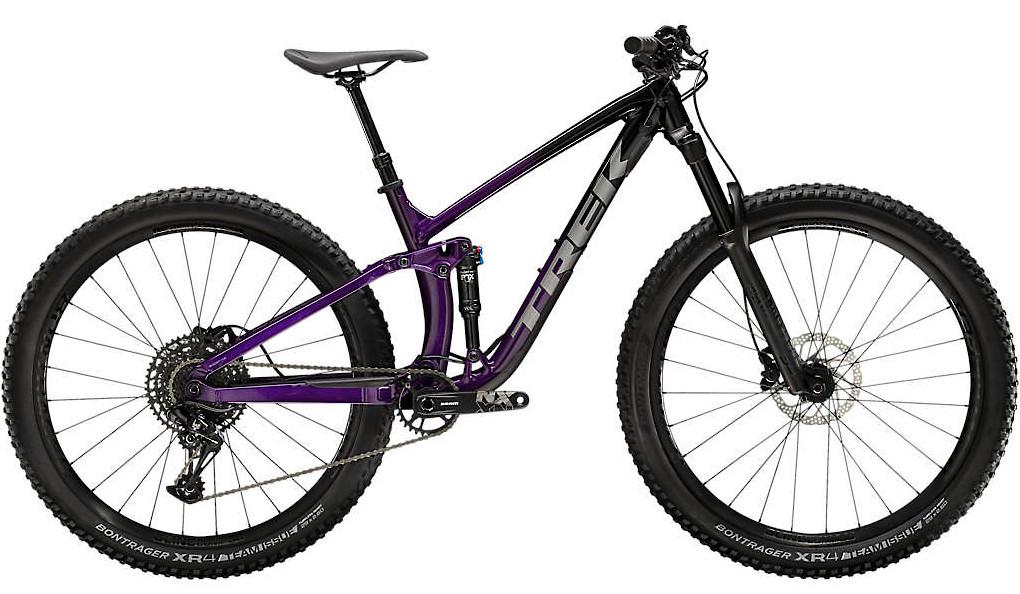 2020 Trek Fuel EX 7 Trek Black Purple Lotus