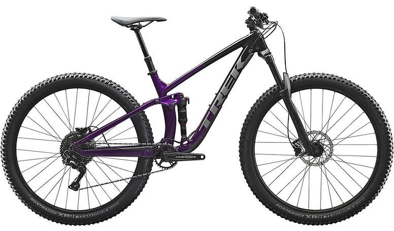 2020 Trek Fuel EX 5 Trek Black Purple Lotus