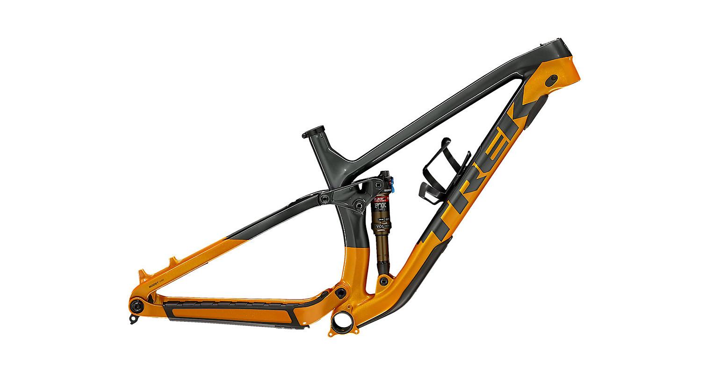 Trek Fuel EX C Frame - Lithium Grey/Factory Orange
