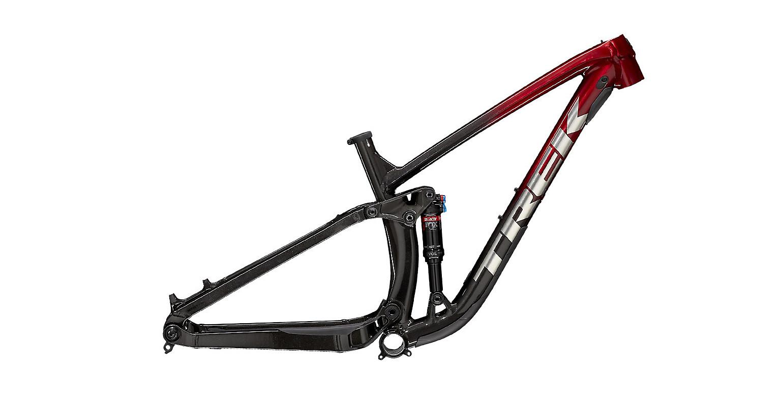 Trek Fuel EX AL Frame - Rage Red/Dnister Black Fade