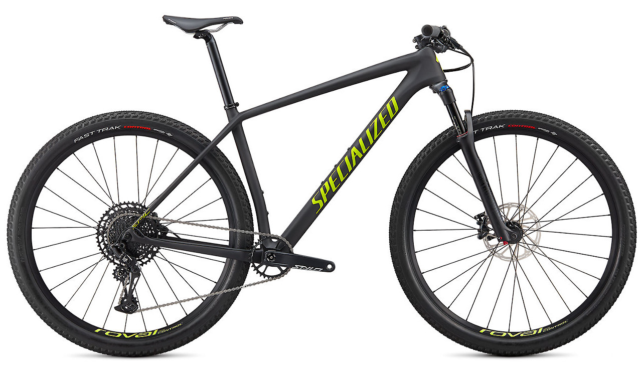 2020 Specialized Epic Hardtail Comp Satin Carbon Hyper Green