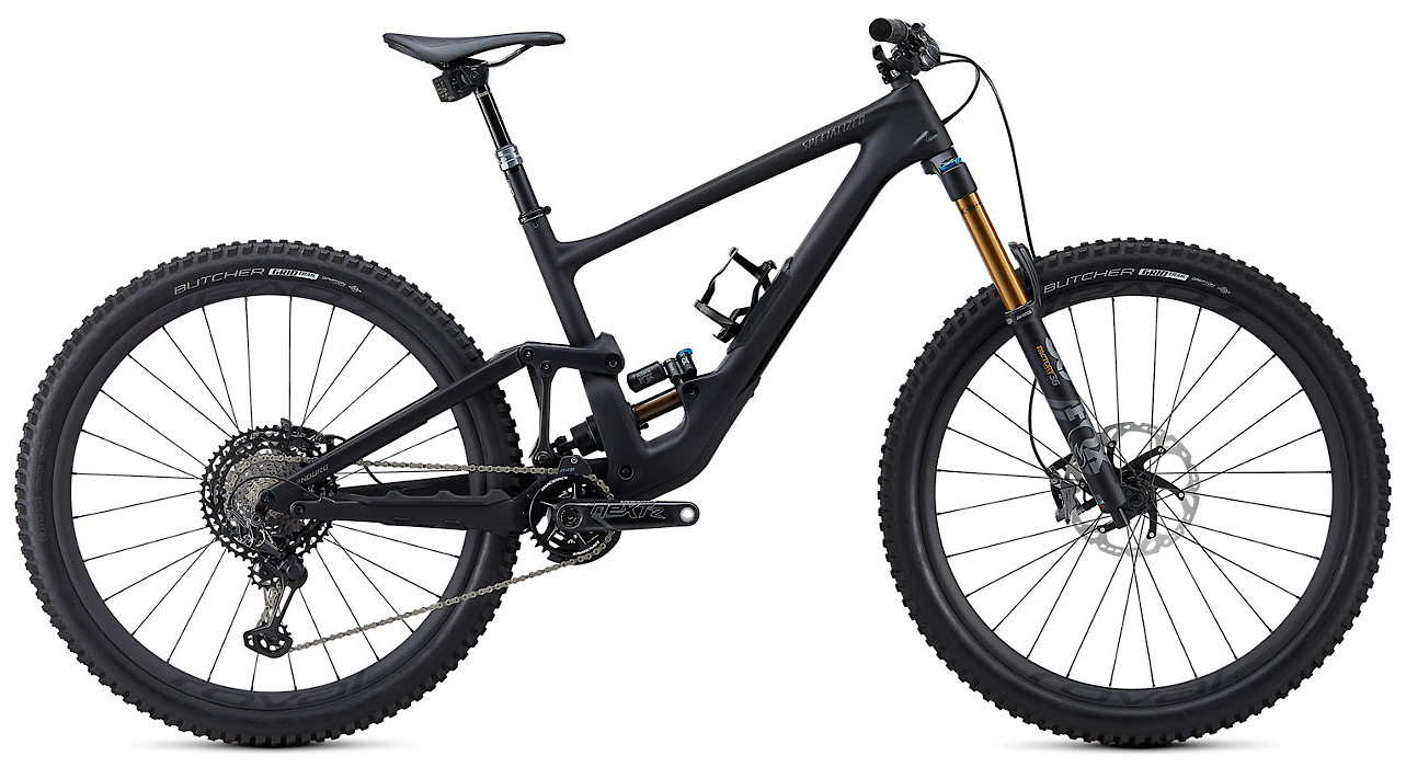 2020 Specialized Enduro S-Works Satin Black Tint Brushed Black Chrome Satin Carbon
