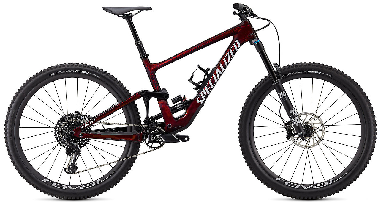 2020 Specialized Enduro Expert Gloss Red Tint Dove Gray Satin Black