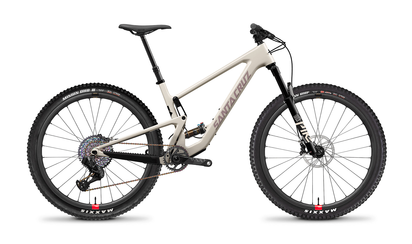 2021 Santa Cruz Tallboy Carbon CC - Ivory and Gypsum