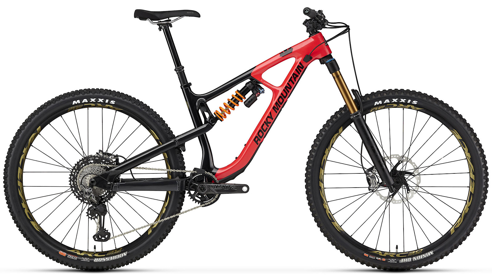 2020 Rocky Mountain Slayer Carbon 90 29 Red and Black