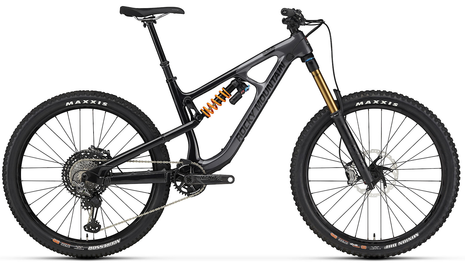 2020 Rocky Mountain Slayer Carbon 90 27.5 Gray and Black