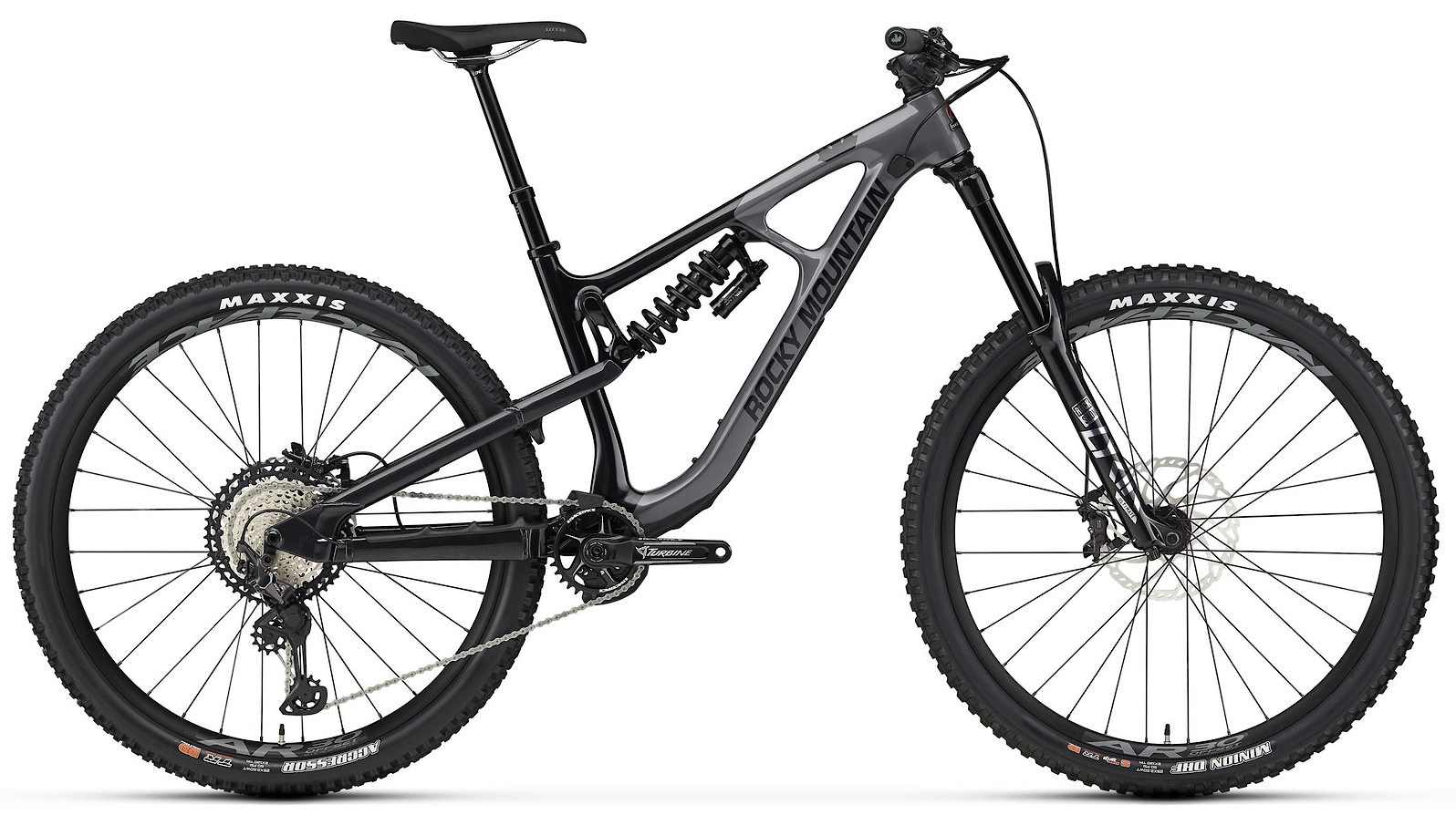 2020 Rocky Mountain Slayer Carbon 70 29 Gray and Black