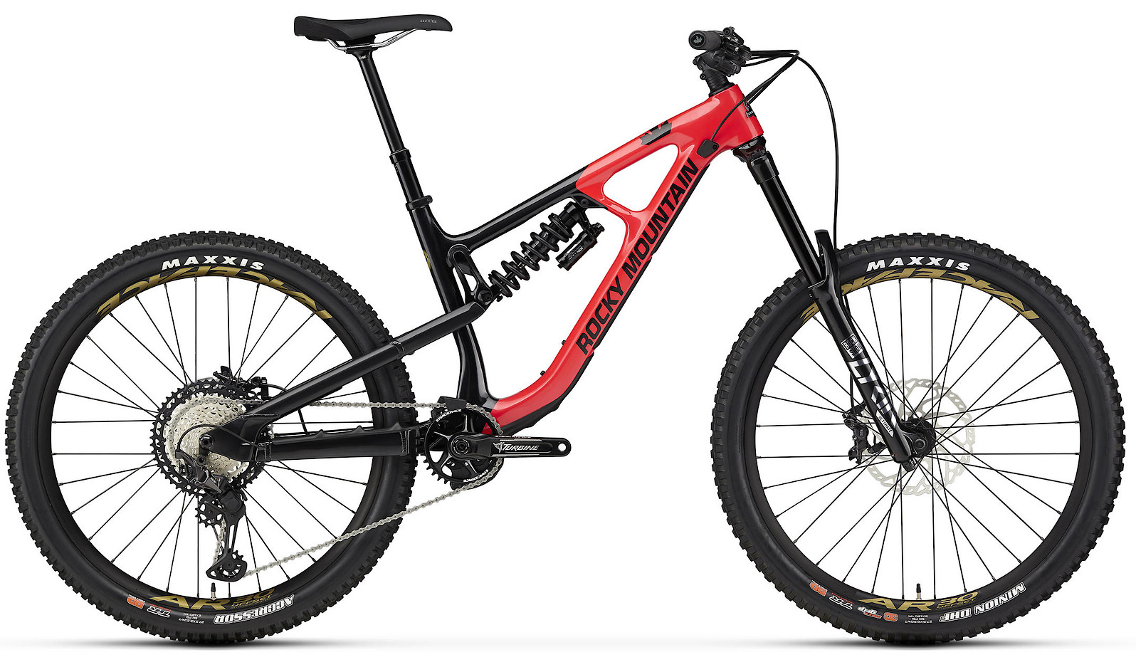 2020 Rocky Mountain Slayer Carbon 70 27.5 Red and Black