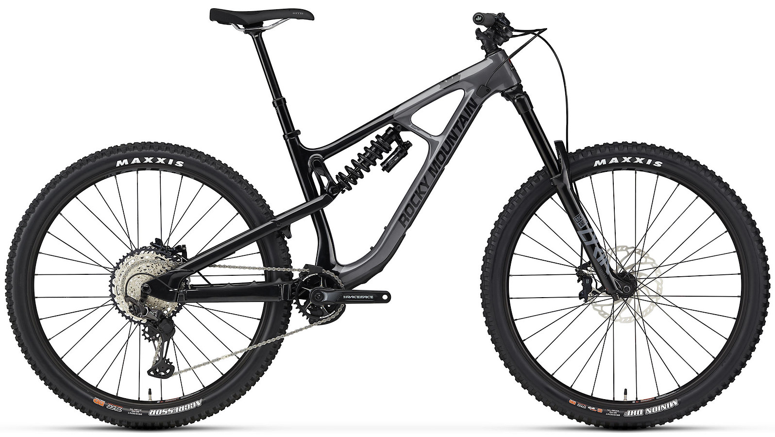 2020 Rocky Mountain Slayer Carbon 50 29 Gray and Black