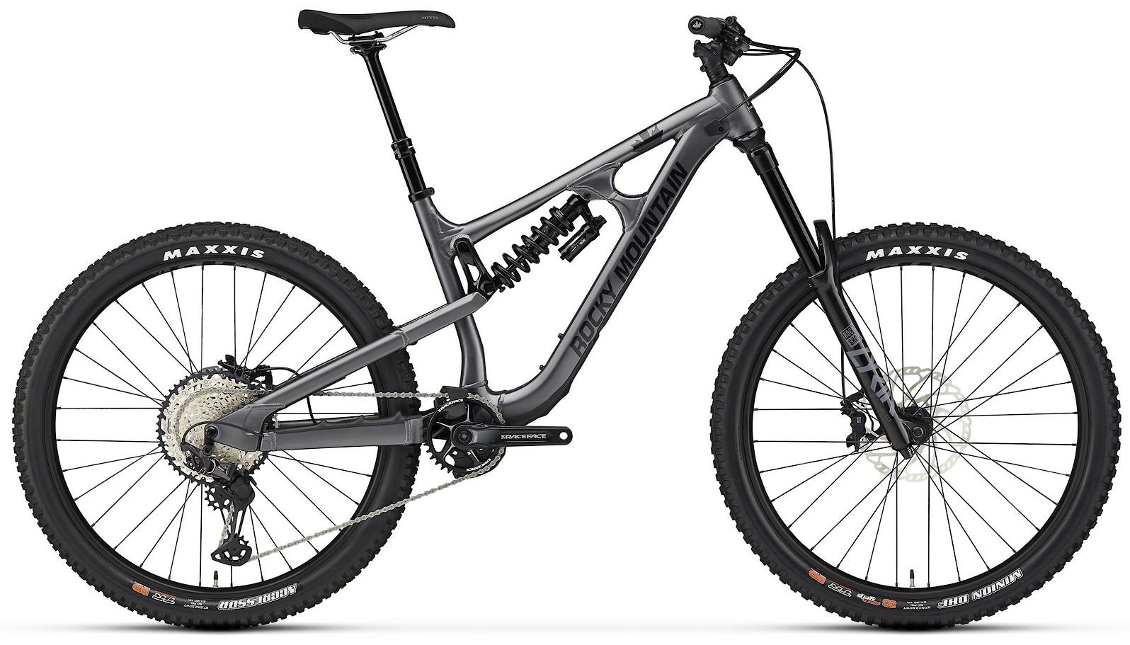 2020 Rocky Mountain Slayer Alloy 50 27.5 Gray and Black