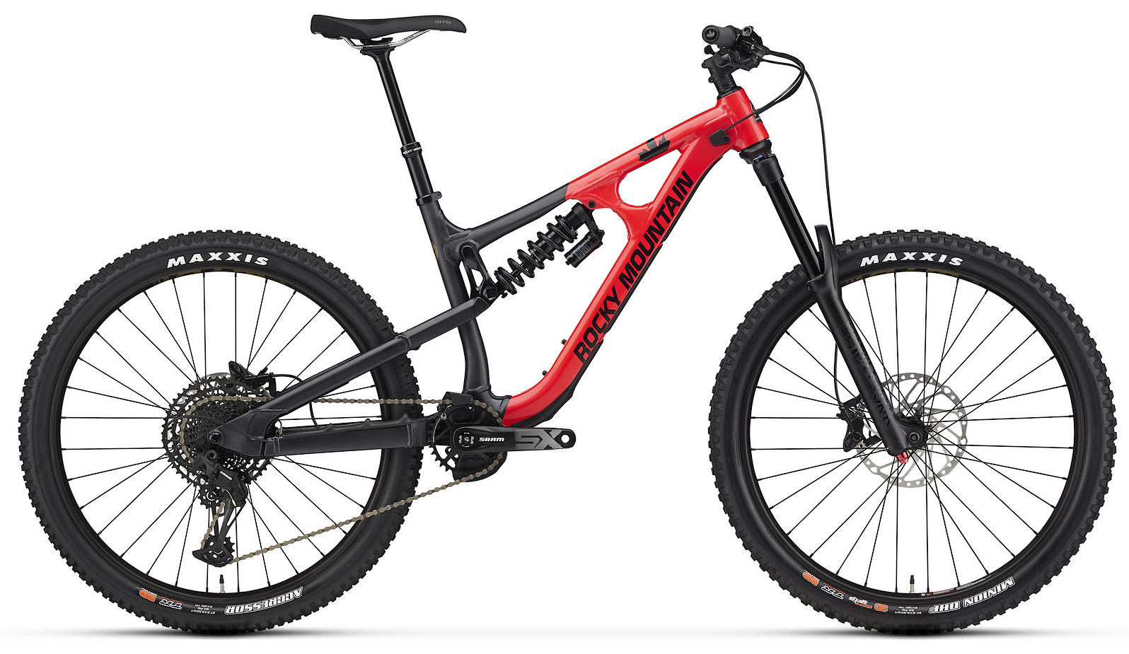 2020 Rocky Mountain Slayer Alloy 30 27.5 Red and Black