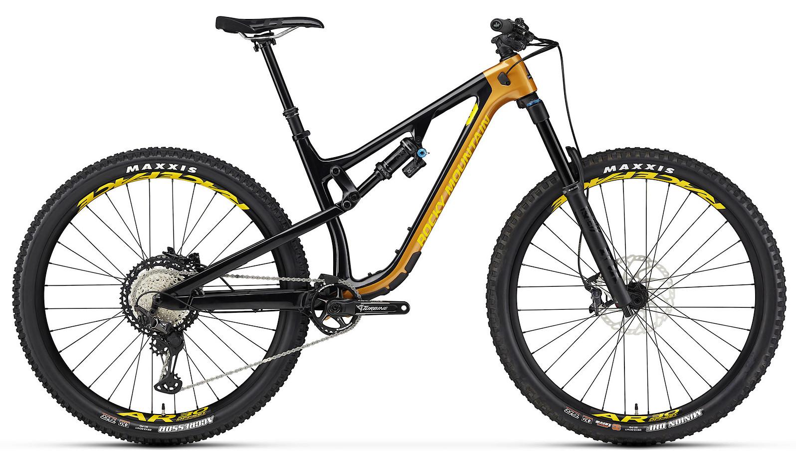 2020 Rocky Mountain Instinct Carbon 70 BC Edition Black Orange and Yellow