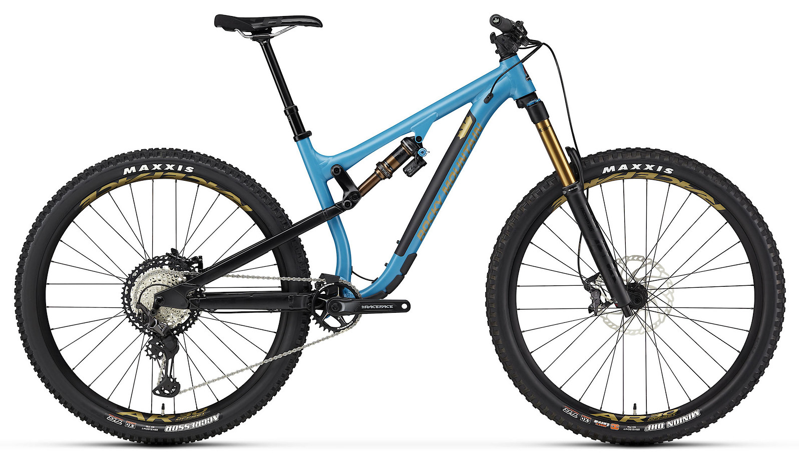 2020 Rocky Mountain Instinct Alloy 70 BC Edition Blue Black and Yellow