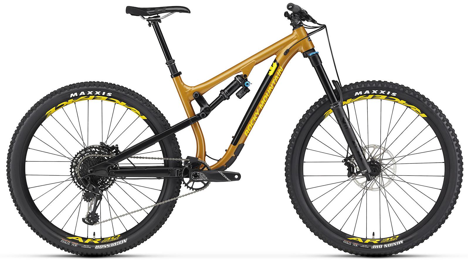 2020 Rocky Mountain Instinct Alloy 50 BC Edition Orange Black and Yellow