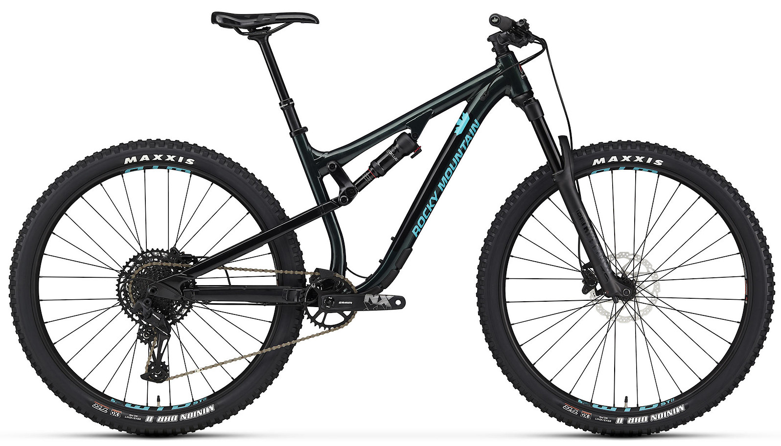 2020 Rocky Mountain Instinct Alloy 30 Green and Blue