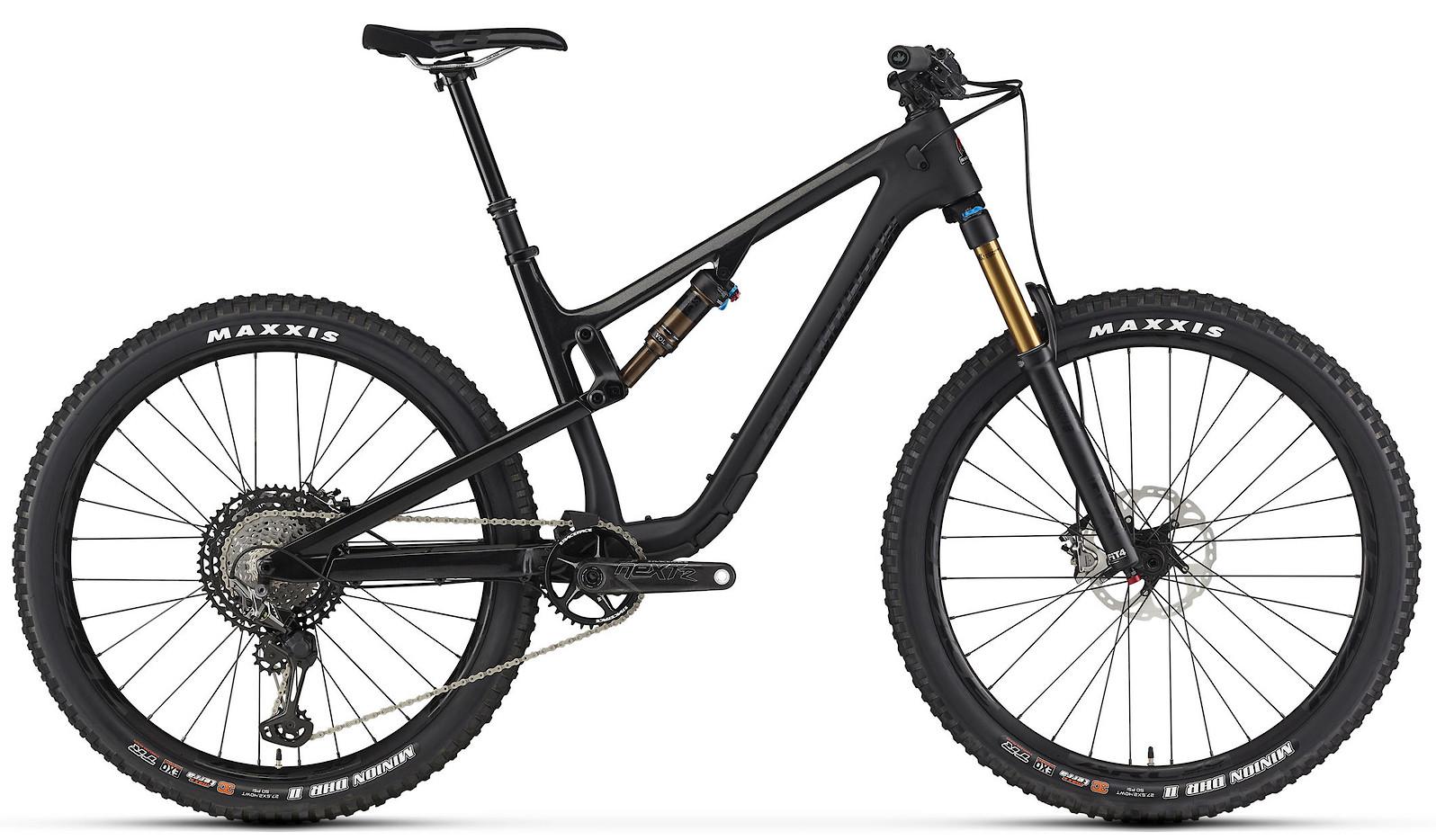 2020 Rocky Mountain Thunderbolt Carbon 90 Black and Black