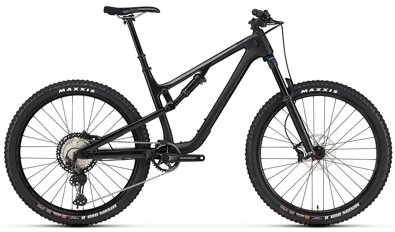 2020 Rocky Mountain Thunderbolt Carbon 70 Black and Black
