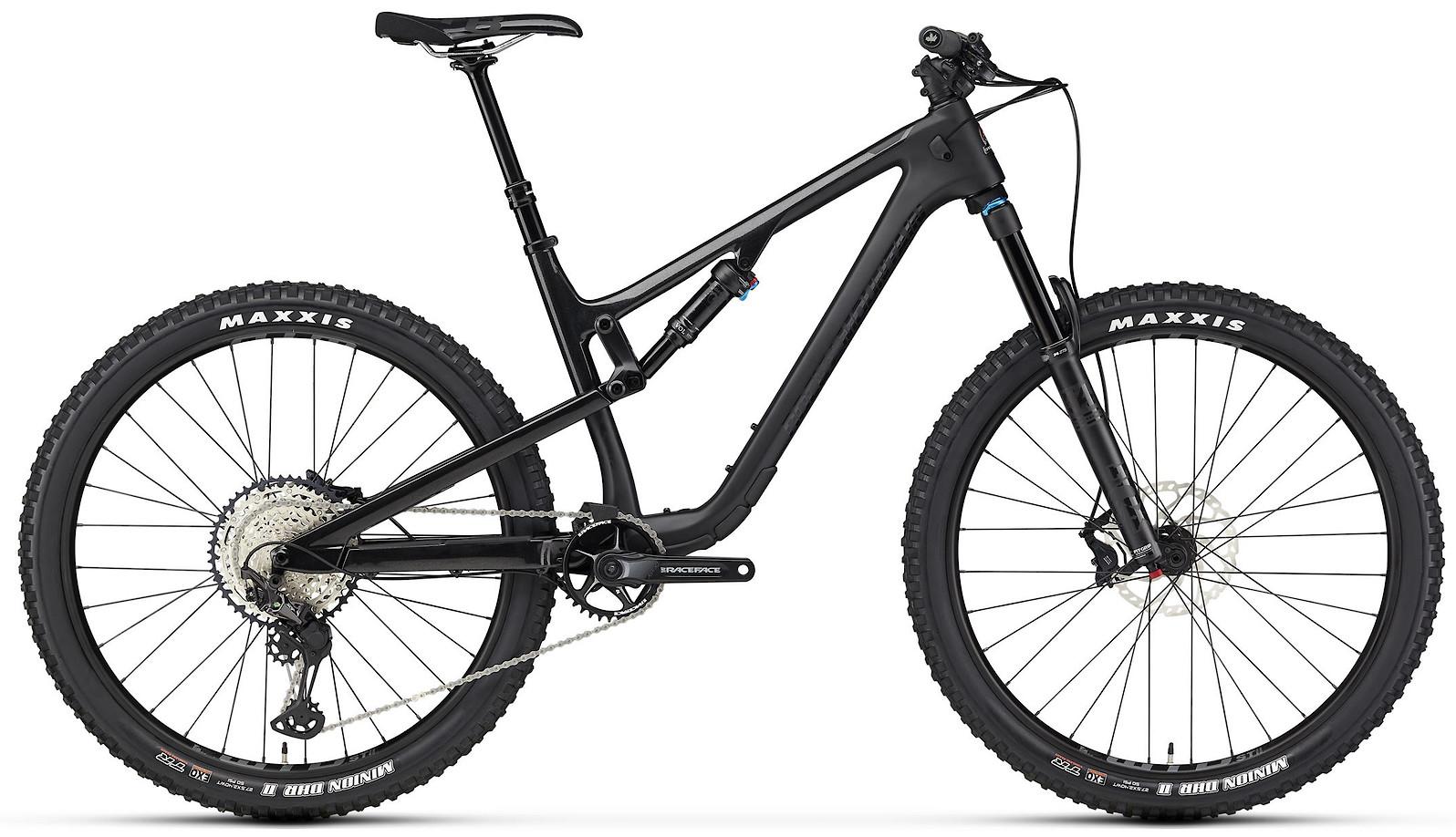 2020 Rocky Mountain Thunderbolt Carbon 50 Black and Black