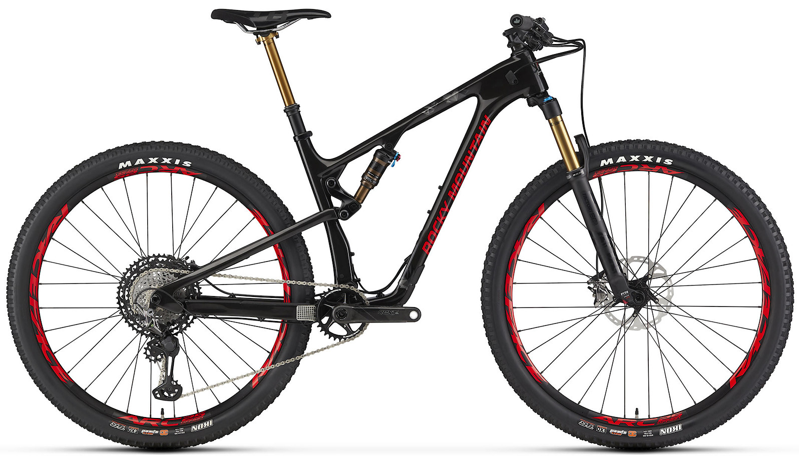2020 Rocky Mountain Element Carbon 90 Black and Red