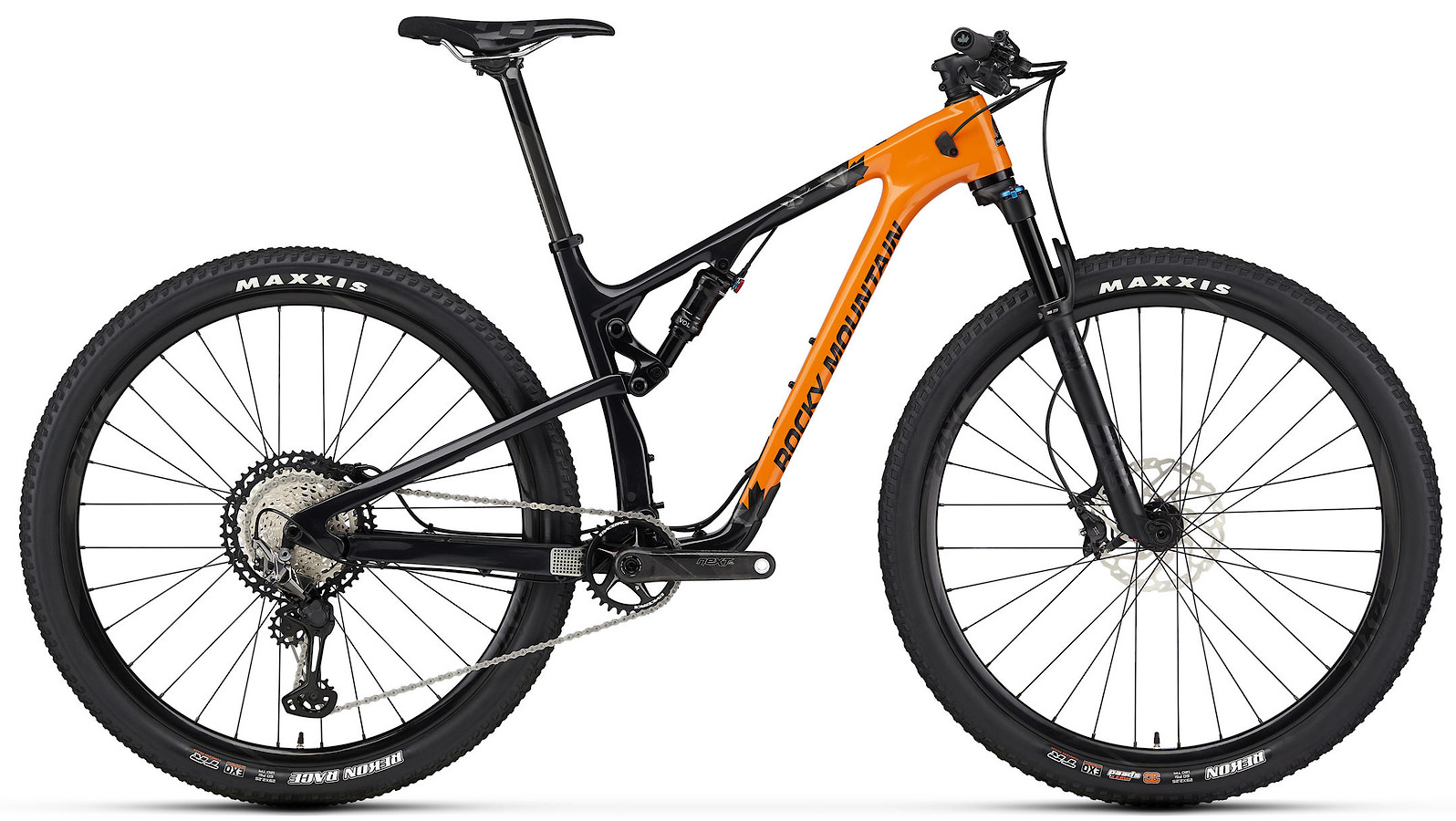 2020 Rocky Mountain Element Carbon 70 XCO Edition Orange and Black