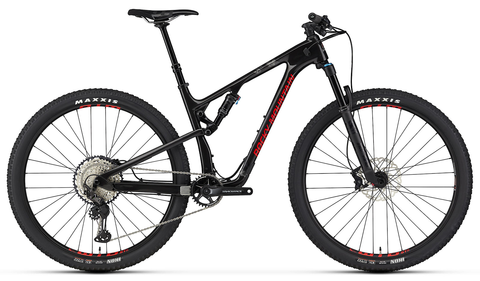 2020 Rocky Mountain Element Carbon 50 Black and Red