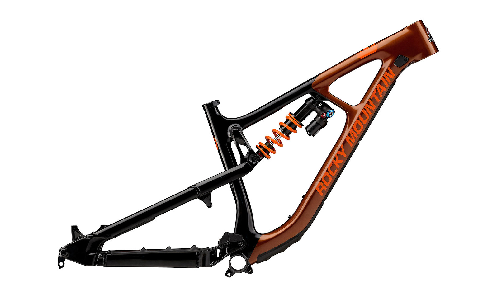 Rocky Mountain Slayer Carbon Frame - Orange/Black