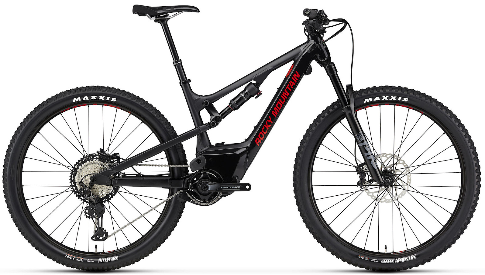 2020 Rocky Mountain Instinct Powerplay Alloy 70 Black and Red