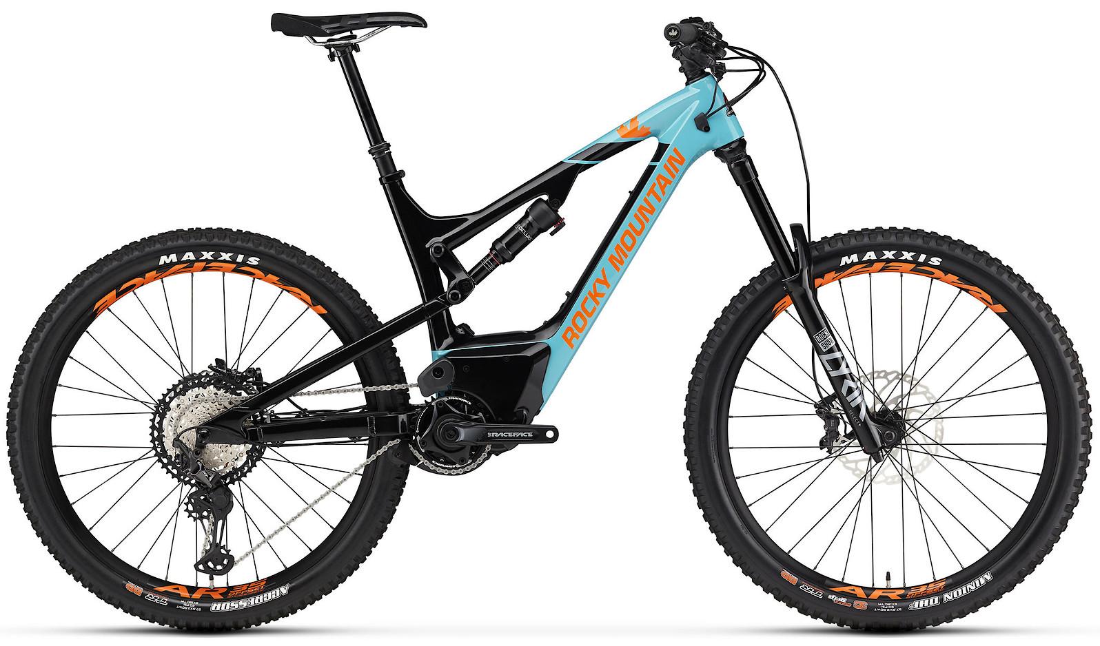 2020 Rocky Mountain Altitude Powerplay Carbon 70 Blue Black and Orange