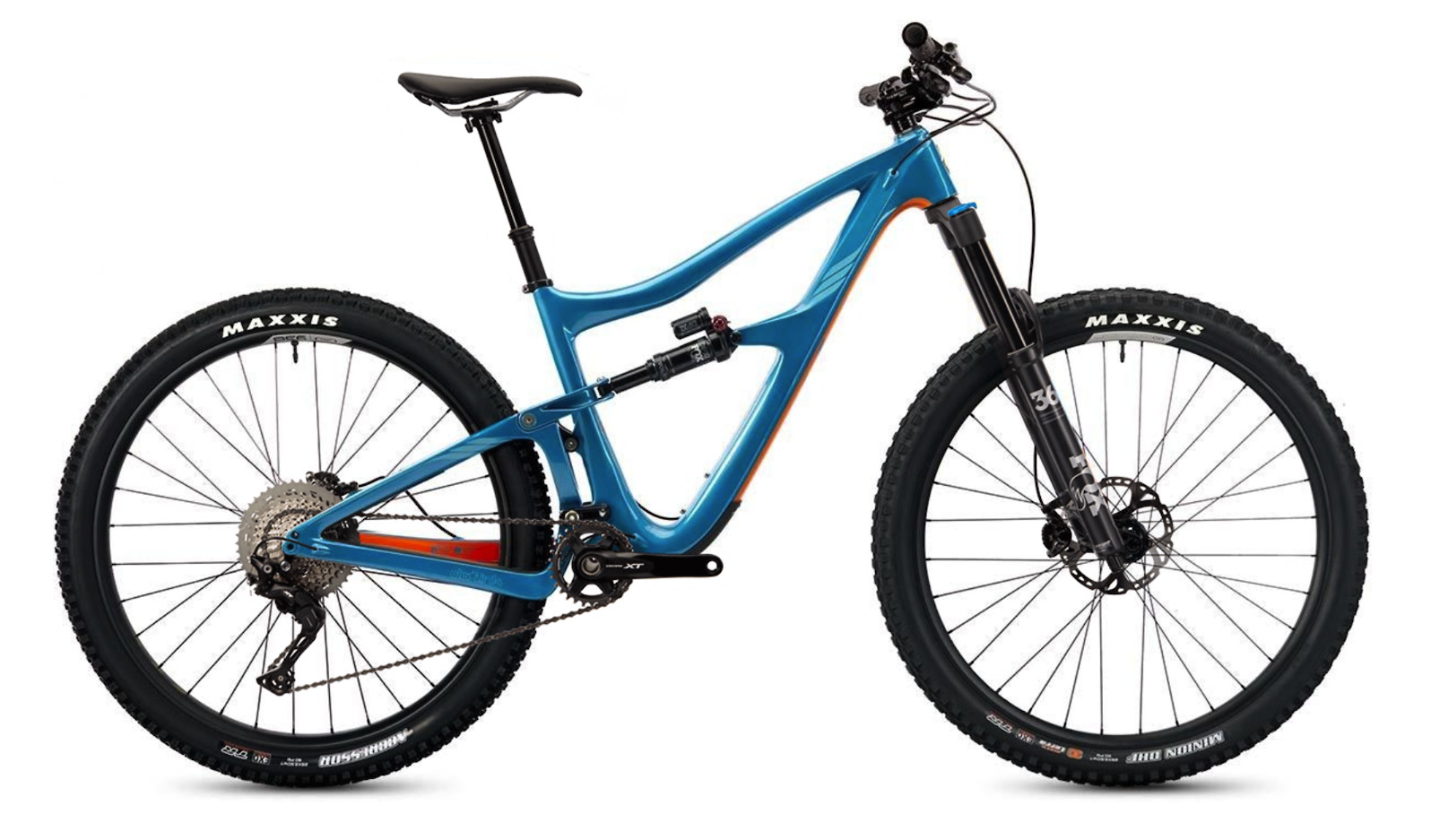 2020 Ibis Ripmo Carbon - Tangerine Sky (XT build pictured)