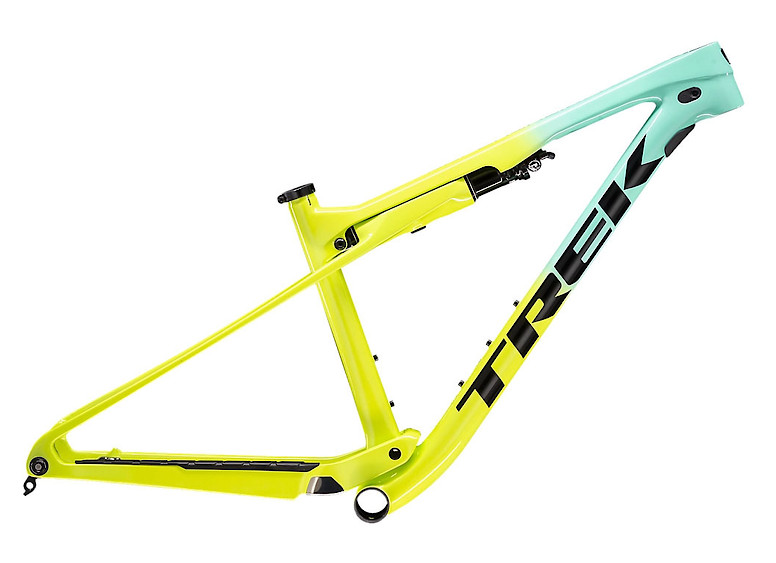 2020 Trek Supercaliber Frame Miami Green to Volt Fade