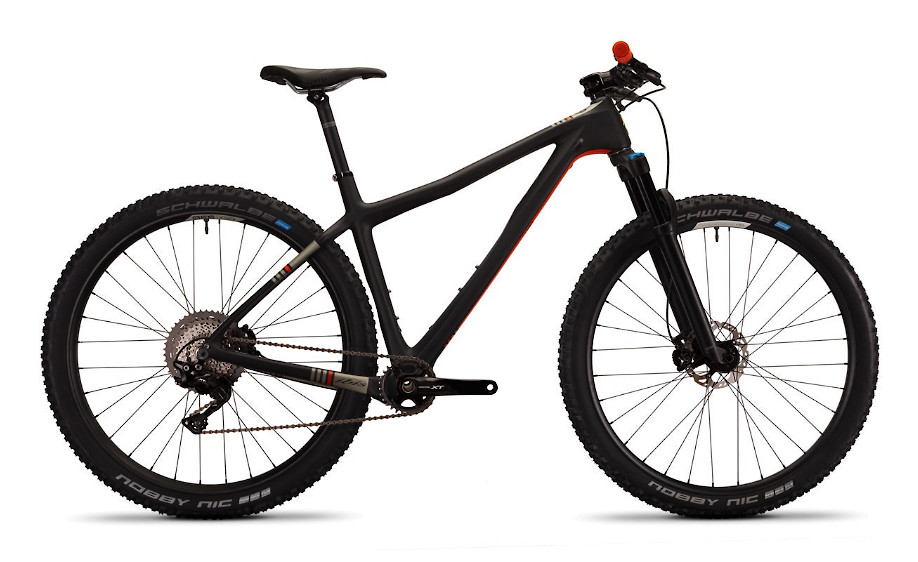 2020 Ibis DV9 - Black/Orange (XT build pictured)