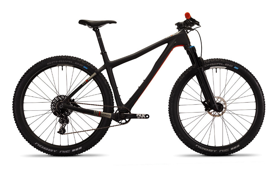 2020 Ibis DV9 - Black/Orange (NX build pictured)