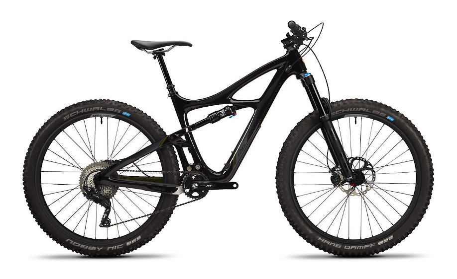 2020 Ibis Mojo 3 - Obsidian Black (XT build pictured)