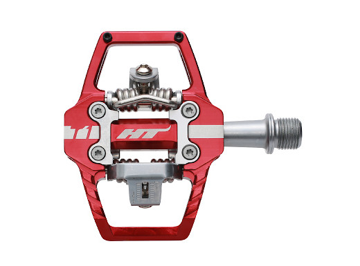 HT Components Cromo Spindle for T1 Pedal Silver