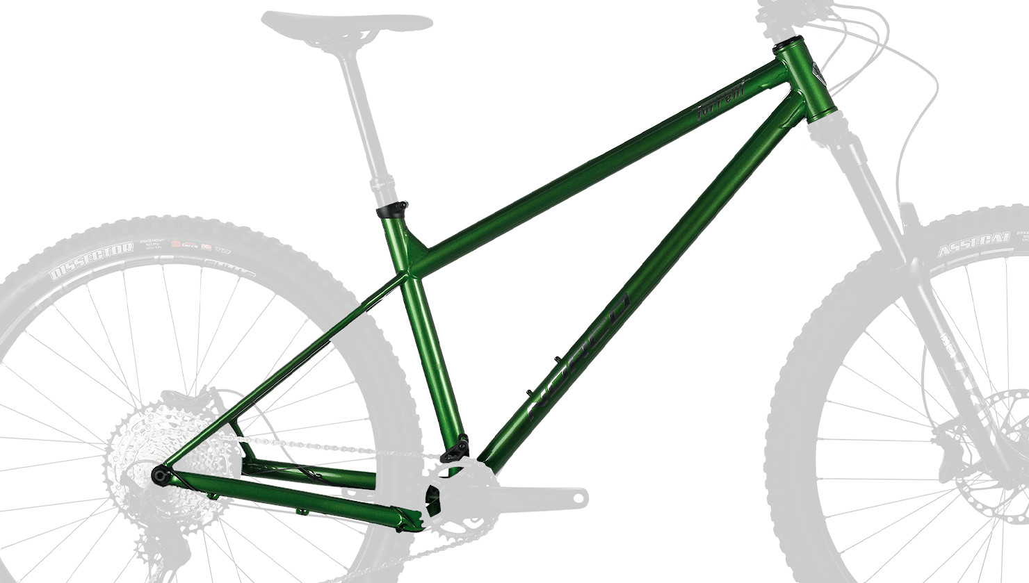 Norco Torrent HT S (Green/Chrome)