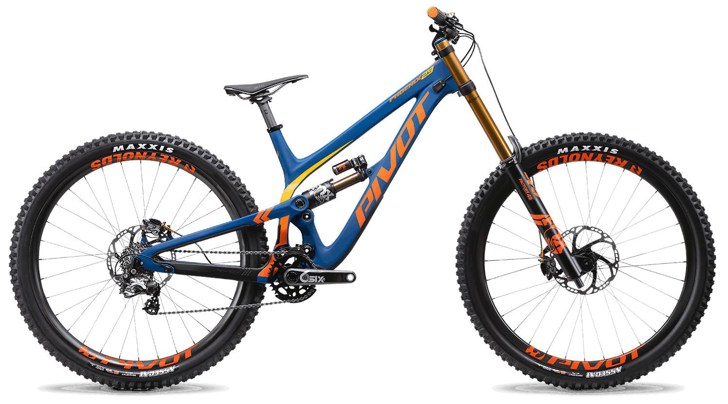 2020 Pivot Phoenix 29 Blue (Pro Saint build pictured)