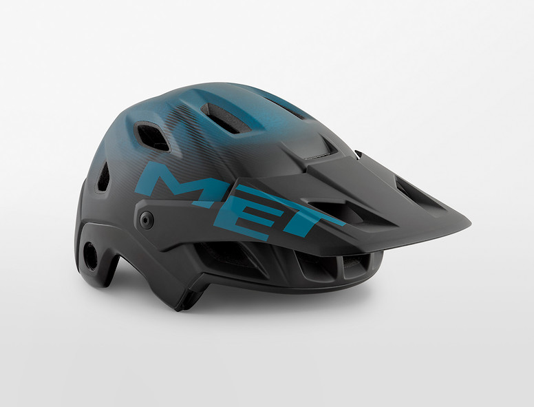 MET Parachute MCR (black petrol blue)