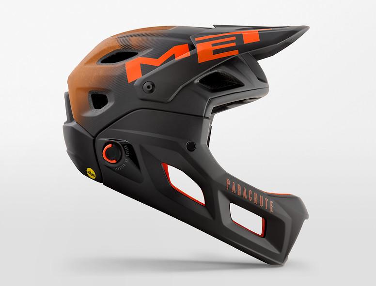 MET Parachute MCR (black orange)