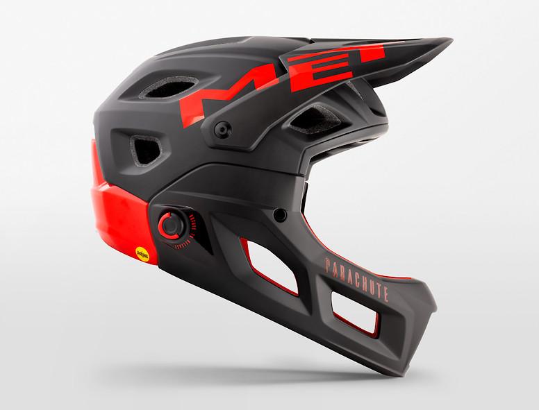 MET Parachute MCR (black red)