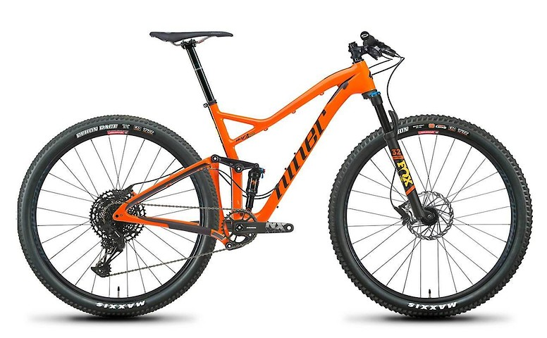2020 Niner RKT 9 RDO 2-Star SRAM SX (RS build, Orange)