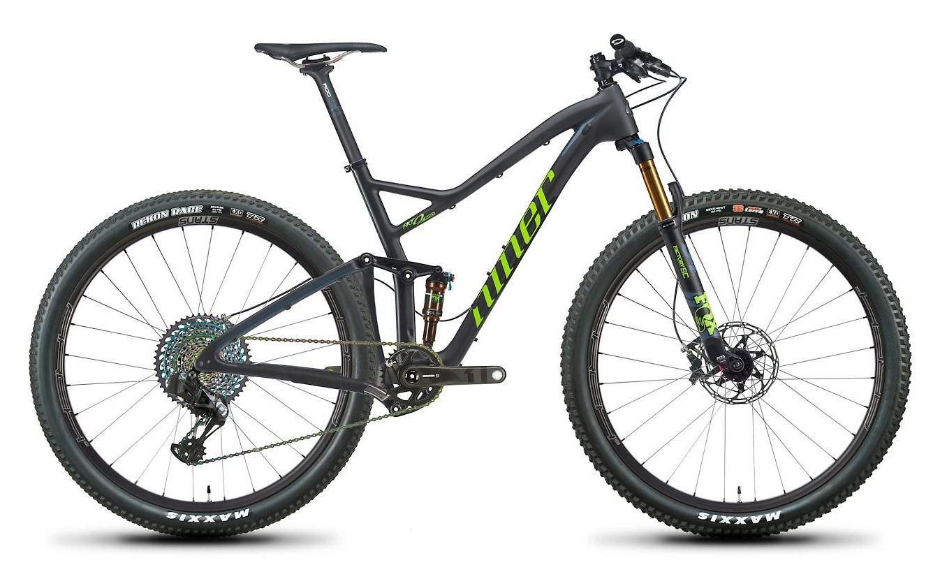 2020 Niner RKT 9 RDO 5-Star SRAM X01 AXS LTD (Carbon/Green)