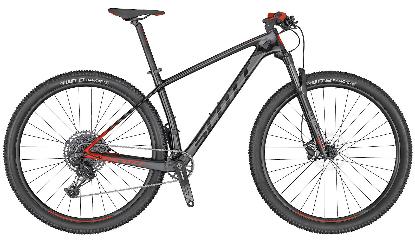 2020 Scott Scale 940 Black and Red