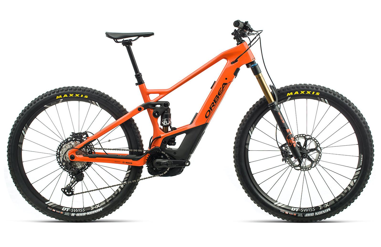 2020 Orbea Wild FS M-Team (Gloss Orange/Matte Black)