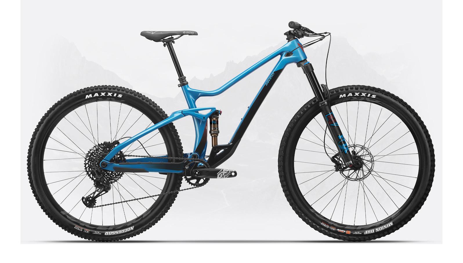 2020 Devinci Django Carbon 29 GX (Gloss Lunar Blue)